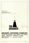 "Movie Posters:Comedy, The Graduate (Embassy, 1968). One Sheet (27"" X 41"") Style B.. ..."