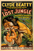 """Movie Posters:Serial, The Lost Jungle (Mascot, 1934). One Sheet (27"""" X 41"""").. ..."""