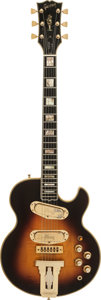 Musical Instruments:Electric Guitars, 1974 Gibson L5S Custom Sunburst Solid Body Electric Guitar, Serial#395718, Weight: 9.6 lbs....