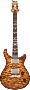 Musical Instruments:Electric Guitars, 2013 Paul Reed Smith (PRS) Private Stock Custom 22 VintageAmberburst Solid Body Electric Guitar, Serial # 13201465, Weight:6...
