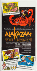 """Movie Posters:Animation, Alakazam the Great & Others Lot (American International, 1960). Three Sheets (4) (approx. 41"""" X 80""""). Animation.. ... (Total: 4 Items)"""