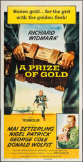 "Movie Posters:Crime, A Prize of Gold & Others Lot (Columbia, 1955). Three Sheets (13) (approx. 41"" X 79""). Crime.. ... (Total: 13 Items)"