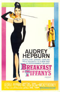 """Movie Posters:Romance, Breakfast at Tiffany's (Paramount, 1961). Poster (40"""" X 60"""") Style Z.. ..."""