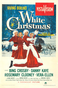 "White Christmas (Paramount, 1954). One Sheet (27.5"" X 41.5"")"