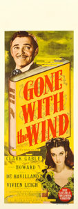"Movie Posters:Academy Award Winners, Gone with the Wind (MGM, 1939). Australian Pre-War Daybill (15"" X40"").. ..."