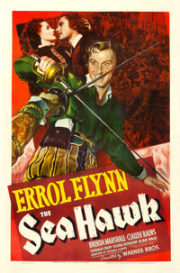 "The Sea Hawk (Warner Brothers, 1940). One Sheet (27"" X 41"")"