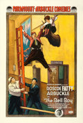 "Movie Posters:Comedy, The Bell Boy (Paramount, 1918). One Sheet (28"" X 41"").. ..."