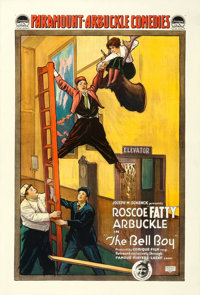 """The Bell Boy (Paramount, 1918). One Sheet (28"""" X 41"""")"""