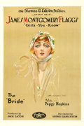 """Movie Posters:Comedy, James Montgomery Flagg's The Bride (Perfection Pictures, 1918). One Sheet (28"""" X 42"""").. ..."""