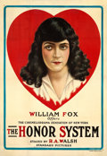 "Movie Posters:Drama, The Honor System (Fox, 1917). One Sheet (28.5"" X 41"").. ..."