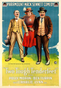 "Movie Posters:Comedy, Two Tough Tenderfeet (Paramount, 1918). One Sheet (28.5"" X 41"")....."