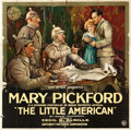 "Movie Posters:Drama, The Little American (Artcraft, 1917). Six Sheet (80"" X 79.5"").. ..."