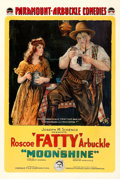 "Movie Posters:Comedy, Moonshine (Paramount, 1918). One Sheet (28"" X 41"").. ..."