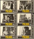 "Movie Posters:Hitchcock, Psycho (Paramount, 1960). Spanish Lobby Card Set of 12 (11"" X14"").. ... (Total: 12 Item)"