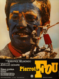 """Movie Posters:Foreign, Pierrot le fou (SNC, R-1970s). French Grande (47"""" X 63""""). Foreign.. ..."""