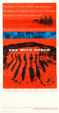 """Movie Posters:Western, The Wild Bunch (Warner Brothers, 1969). Three Sheet (41"""" X 80"""").. ..."""