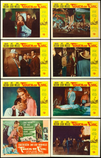"""Touch of Evil (Universal International, 1958). Lobby Card Set of 8 (11"""" X 14""""). ... (Total: 8 Items)"""