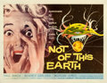 "Movie Posters:Science Fiction, Not of This Earth (Allied Artists, 1957). Half Sheet (22"" X 28"").. ..."