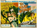 "Movie Posters:Science Fiction, The Wasp Woman/Beast From Haunted Cave Combo (Grand NationalPictures, 1960). British Quad (30"" X 40"").. ..."