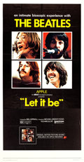 "Movie Posters:Rock and Roll, Let It Be (United Artists, 1970). Three Sheet (39.5"" X 77"").. ..."