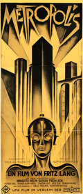 "Movie Posters:Science Fiction, Metropolis (S2 Art Group, 1997). Limited Edition Fine ArtLithograph (36.5"" X 85"").. ..."