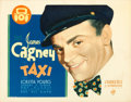 "Movie Posters:Crime, Taxi (Warner Brothers, 1932). Title Lobby Card (11"" X 14"").. ..."