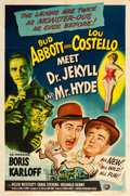 """Movie Posters:Comedy, Abbott and Costello Meet Dr. Jekyll and Mr. Hyde (Universal International, 1953). One Sheet (27"""" X 41"""").. ..."""