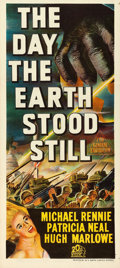 "Movie Posters:Science Fiction, The Day the Earth Stood Still (20th Century Fox, 1951). AustralianPost-War Daybill (13"" X 30"").. ..."