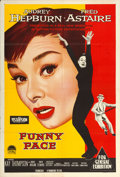 "Movie Posters:Romance, Funny Face (Paramount, 1957). Australian One Sheet (27"" X 40"").Romance.. ..."