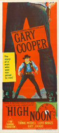 "Movie Posters:Western, High Noon (United Artists, 1952). Australian Daybill (13"" X 30"").. ..."