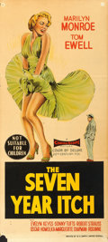 "Movie Posters:Comedy, The Seven Year Itch (20th Century Fox, 1955). Australian Daybill(13"" X 30"").. ..."
