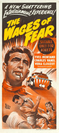 "Movie Posters:Foreign, Wages of Fear (BEF, 1955). Australian Post-War Daybill (13"" X 30"").. ..."