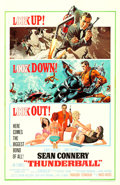 "Movie Posters:James Bond, Thunderball (United Artists, 1965). One Sheet (27"" X 41"").. ..."