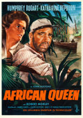 "Movie Posters:Adventure, The African Queen (Columbia, 1958). German A1 (23.5"" X 33.5"").Bruno Rehak Artwork.. ..."