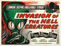 "Movie Posters:Science Fiction, Invasion of the Saucer-Men (Anglo Amalgamated, 1957). British Quad(30"" X 40""). UK Title: Invasion of the Hell Creatures..."