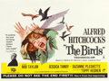 "Movie Posters:Hitchcock, The Birds (Universal International, 1963). British Quad (30"" X 40"").. ..."