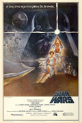 "Movie Posters:Science Fiction, Star Wars (20th Century Fox, 1977). Poster (40"" X 60"") Style A....."