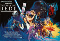 "Movie Posters:Science Fiction, Return of the Jedi (20th Century Fox, 1983). British Quad (27.5"" X40"") London Underground Style.. ..."