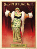 """Our Mutual Girl (Mutual/Dominion Exclusives Co.,1914). British One Sheet (30"""" X 40""""). Serial"""