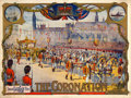 "Movie Posters:Documentary, The Coronation of King George V (Hepwix Film, 1911). British Poster (30"" X 40"").. ..."