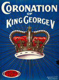 "Movie Posters:Documentary, The Coronation of King George V (Andreora Film, 1911). British One Sheet (29"" X 39.5"").. ..."