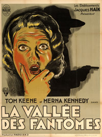 """Ghost Valley (RKO, 1934). French Grande (47"""" X 63"""")"""