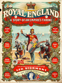 """Royal England: A Story of an Empire's Throne (Globe, 1911). British One Sheet (30"""" X 40"""")"""