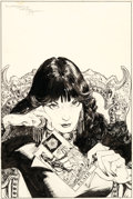 Original Comic Art:Covers, Michael Kaluta Doorway to Nightmare #1 Cover Original Art(DC, 1978)....
