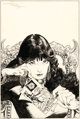 Michael Kaluta Doorway to Nightmare #1 Cover Original Art (DC, 1978)