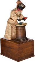 Political:3D & Other Display (pre-1896), Marvelous Extremely Rare Ives Sojourner Truth Mechanical ClockworkToy with Original Box.... (Total: 2 Items)