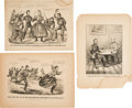 Military & Patriotic:Civil War, Appomattox and Beyond: Three Currier & Ives Prints.... (Total: 3 Items)