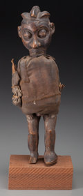 Tribal Art, YAKA, Democratic Republic of Congo. Fetish Figure...