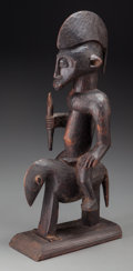 Tribal Art, SENUFO, Ivory Coast. Equestrian Figure... (Total: 2 Items)