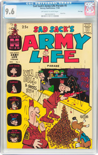 Sad Sack's Army Life Parade #5 File Copy (Harvey, 1964) CGC NM+ 9.6 Off-white to white pages